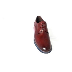 JAM,  MENS WINE COLOUR  SMALL WEDGE  SOLE, SHOE BY SHEKINAH BRAND